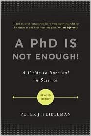 Amazon.com: A PhD Is Not Enough 2nd (second) edition Text ...