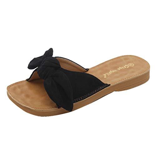YUCH YUCH Black Sandales Femme Sandales 64Zwq54p