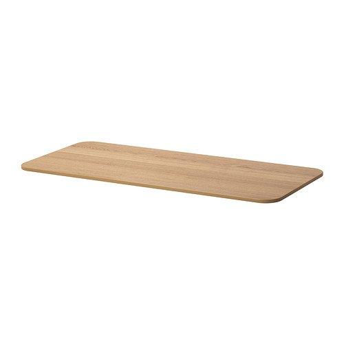Ikea BEKANT – Tablero, Chapa de Roble – 140 x 60 cm: Amazon.es: Hogar