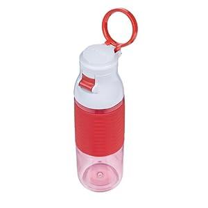 Contigo Jefferson Flip Top Water Bottle, 24-Ounce, Watermelon