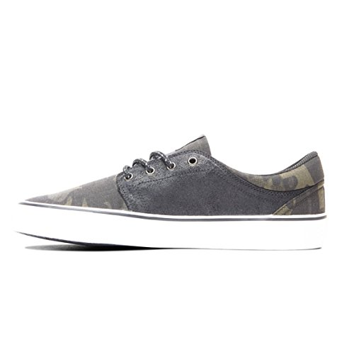 Camo Trase Noir Basses EU Shoes DC 39 Baskets TX Noir Se Gris Homme Black A57Rwfq