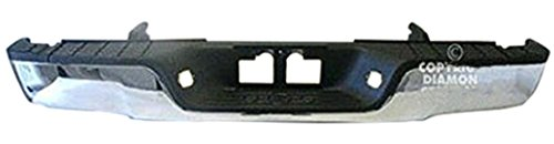 OE Replacement Toyota Tundra Rear Bumper Assembly (Partslink Number TO1103117) (Parts Toyota Bumper Rear)