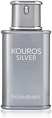 51237cfc30b Yves Saint Laurent Kouros Silver for Men, 3.3 oz EDT Spray: Amazon.ae
