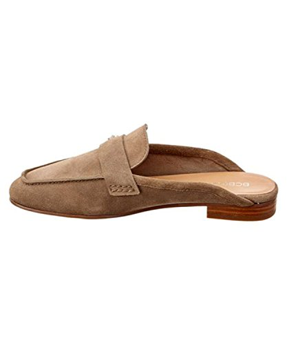 Taupe BCBGeneration Suede Toe Sabrina Womens Mules Square xwY1PCwq