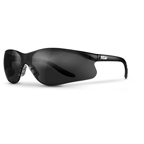 LIFT Safety Sectorlite Safety Glasses (Black Frame/Mirror Lens) ()