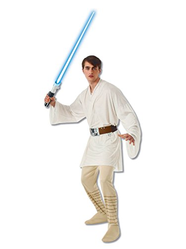 Rubie's Men's Star Wars Adult Luke Skywalker, Multicolor, Standard]()