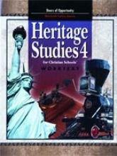 Heritage Studies 4 for Christian Schools