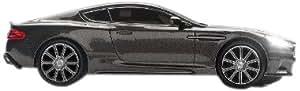 Pawas CARMOUSE10 - Ratón óptico (inalámbrico, 800 DPI, diseño de coche), negro
