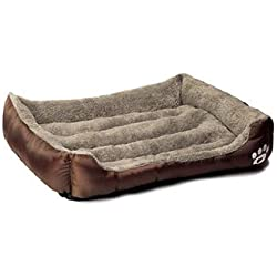 Houses, Kennels & Pens - Pet Dog Bed Warming Dog House Soft Material Nest Dog Baskets Fall and Winter Warm Kennel for Cat Puppy Plus Size Drop Shipping - by Tini - 1 PCs