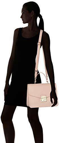 moonstone Metropolis Furla Handle Rosa M Mujer Bolso Top 0gOxqgwR