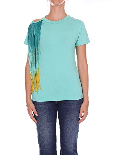 shirt T Cotone Pinko Azzurro 1g137gy4aps70 Donna 5Zqqp