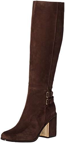 (Calvin Klein Women's Camie Engineer Boot, Coffee Bean, 9 M US)