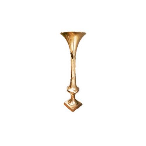 Gold Eagle USA Small Tall Metal Vase, - Eagle Vase