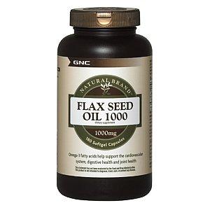 GNC Flax Seed Oil 1000 180 Softgel