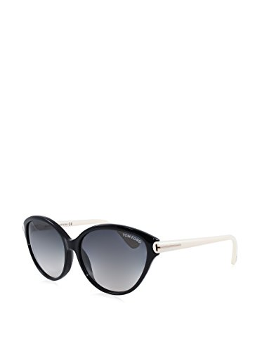 Tom Ford Women's TMF-SUNG-FT0342-05B-60 Designer Sunglasses, Black & - Sung Glass
