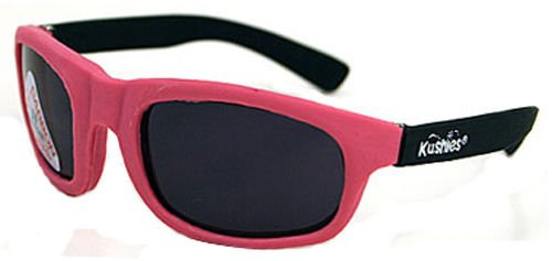 Kushies Kid Size Dupont Rubber Sunglasses with Polycarbonate Lenses (Newborn, - Sunglasses Dupont