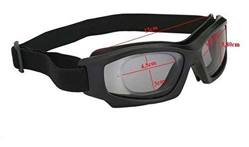 Armação Óculos Segurança DANNY D-TECH Clip Lentes De Grau Airsoft 917b3f6c9a