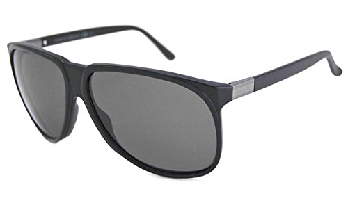 a3d77da655f Image Unavailable. Image not available for. Color  Gucci Sunglasses - 1002    Frame  Black Lens  Polarized Gray