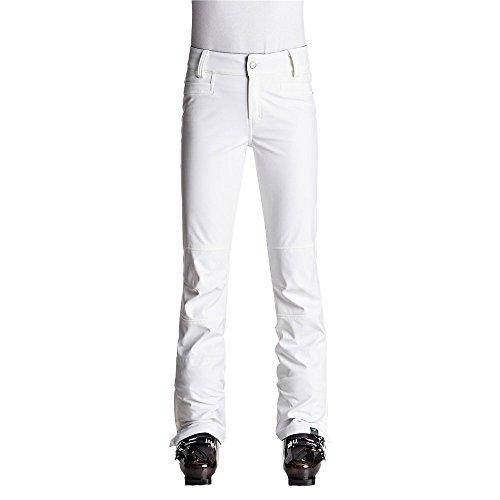 Roxy Snow Junior's Creek Snow Pant, Bright White New, XS