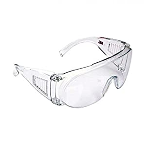 3M 1611 Clear Lens Safety Goggles (Pack of 1)