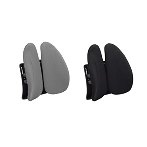 (Urbo Ergonomic Lumbar Back Support with Height Adjustment to Fit Any Seat, Movable Wings That Adapt to Your Shifts & Movements in Office or at Home (Two Pack))