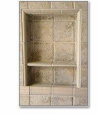 Innovis - 14'' x 14'' Recess-It Shower Niche w/ Floating Shelf