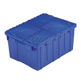 ORBIS FP143 Flipak Distribution Container - 21-7/8 x 15-3/16 x 9-15/16 Blue - 1/Pk