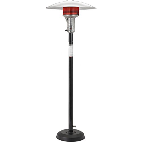 Natural Gas Patio Heater, Black ()