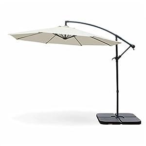 Alices Garden Parasol Déporté Rond ø300cm Hardelot