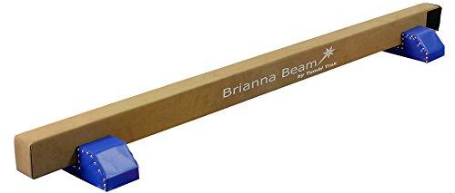 Tumbl Trak Royal Blue Brianna Beam Suede Balance Beam with Royal Blue Beam Legs, 8-Feet Length x 4-Inch Width x 6-Inch Height