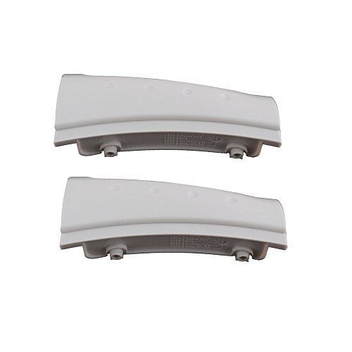 Podoy 8181846 Dryer Handle for Whirlpool Duet Washer Washing Machine Replacement (Pack of 2) (Washer Whirlpool Handle)