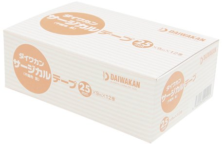 当店だけの限定モデル ダイワカンサージカルテープ不織布肌色 25MMX9M(12) 25MMX9M(12) (24-6794-01)[20箱単位] B07BD4VVMK, cocobeau:e1023393 --- podolsk.rev-pro.ru