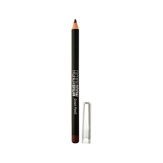 Maybelline New York Fashion Brow Cream Pencil, Brown, 0.78 g