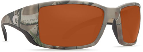 Costa Del Mar Blackfin Sunglass, Realtree Xtra Camo/Copper 580Glass by Costa Del Mar