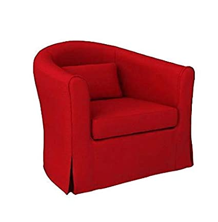 Fabulous Mastersofcovers 5 Color Cotton Tullsta Armchair Cover For Ncnpc Chair Design For Home Ncnpcorg