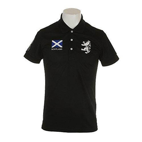 [アドミラル ゴルフ]フラッグ ポロシャツ メンズ