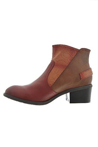 bottes et bottines laura vita aline rouge