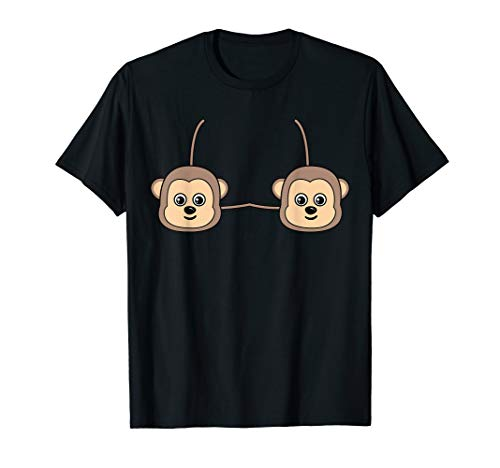 Grey Monkey Costume - Monkey Bra Costume Cute Easy Animal