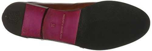Melvin&Hamilton Sally 39 - Zapatos Monkstrap Mujer Braun (Crust Woody, hRS)