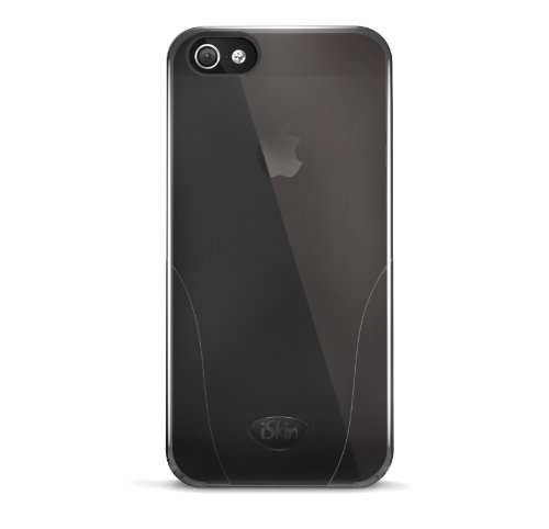 Iskin Iphone Case (iSkin SOLO5G-BK2 Solo Case for iPhone 5 - 1 Pack - Retail Packaging - Black)