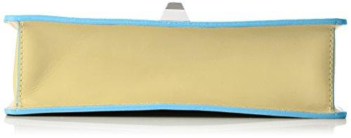 Borse Yellow à Yellow Jaune sac Chicca 8705 main Rqwaw1T