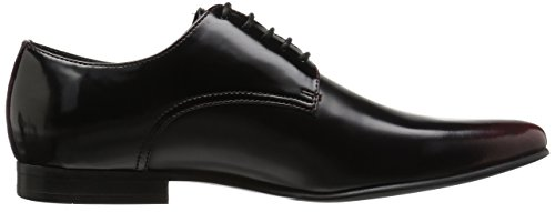 Steve Madden Mens Neves Oxford Zwart / Rood