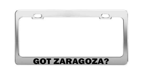 Amazon.com: Fast Lane Signs GOT ZARAGOZA? Chrome Metal ...