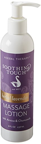 Soothing Touch W67341S Herbal Lavender Lotion, 8-Ounce