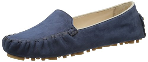 Cole Haan Women's Cary Venetian Moccasin, Blazer Blue Nubuck, 6.5 B - Shoes Haan Cole Driving Women