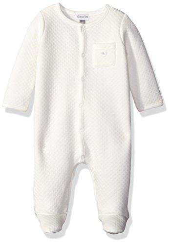 ABSORBA Baby Uni Diamond Quilt Footie