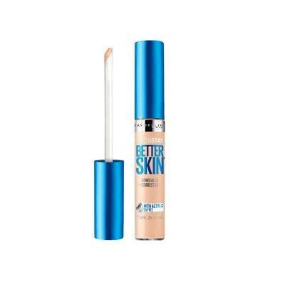 Maybelline Superstay Better Skin Concealer + Corrector - 20 Light (Pack of 2) Maybeline New York