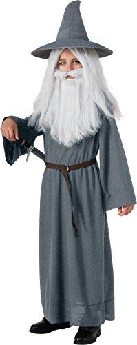 Kids Grey Gandalf Costumes (The Hobbit Gandalf the Grey Costume - Medium)