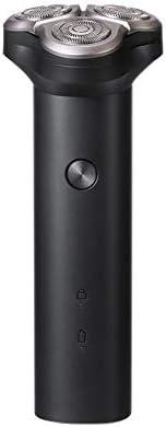 Xiaomi Mijia S300 3D - Afeitadora eléctrica flotante inteligente IPX7 resistente al agua con carga tipo C, hoja de doble capa seca y húmeda para barba afeitada