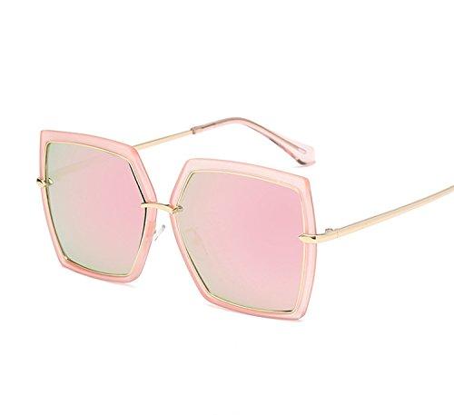 Sllxgli fashion sunglasses ladies box round face sunglasse